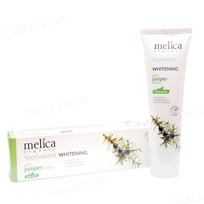 Зубная паста Melica Organic c экстрактом можжевельника, 100 мл