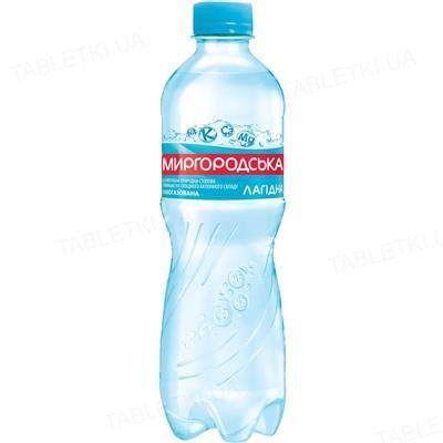 Вода минеральная Миргородская Лагидная слабогазированная, 0,5 л