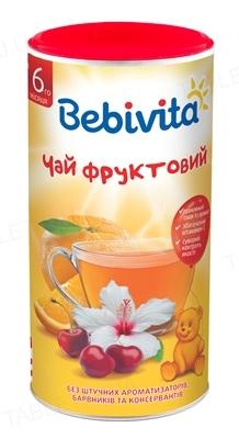 Сухой быстрорастворимый напиток Bebivita Чай фруктовый, 200 г