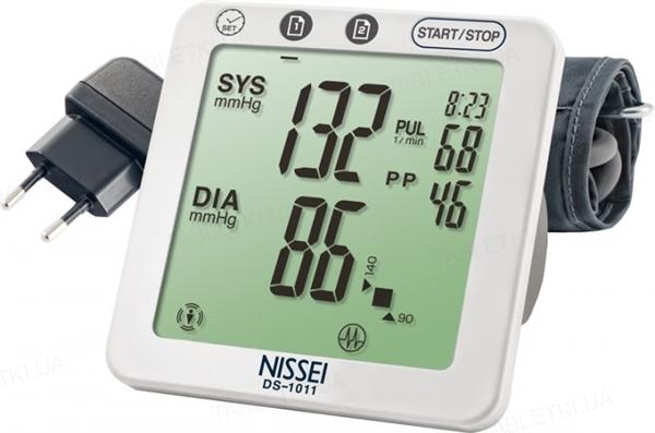 Тонометр Nissei DS-1011 автоматический с сетевым адаптером