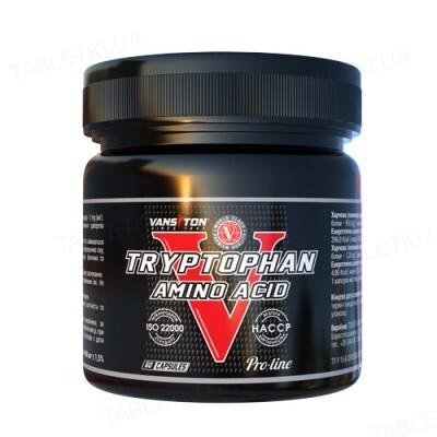 Аминокислота Vansiton Tryptophan (Триптофан), 60 капсул