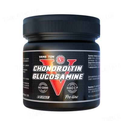 Хондропротектор Vansiton Chondroitine Glucosamine (Хондроитин + Глюкозамин), 60 капсул