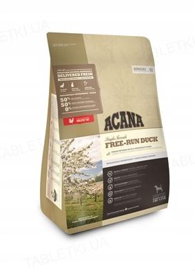 Корм сухой для собак всех пород ACANA Free-Run Duck гипоаллергенный, 2 кг