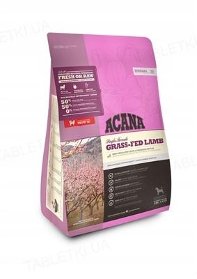 Корм сухой для собак всех пород ACANA Grass-Fed Lamb, 2 кг
