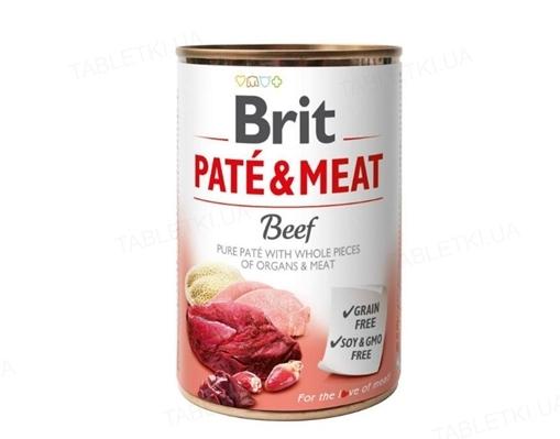 Корм влажный для собак Brit Care со вкусом говядины и индейки, 400 г
