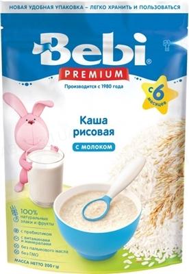 Суха молочна каша Bebi Premium Рисова, 250 г