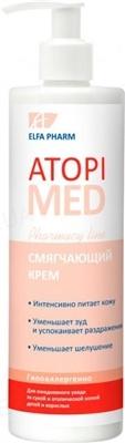 Крем для тела Elfa Pharm Atopi Med смягчающий, 400 мл