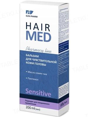 Бальзам Elfa Pharm Hair Med для чувствительной кожи головы, 200 мл