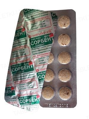 Фитосорбент таблетки №10