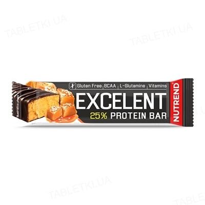 Батончик протеиновый Nutrend Excelent Protein bar Соленая карамель, 85 г