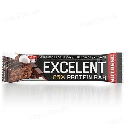 Батончик протеиновый Nutrend Excelent Protein bar Шоколад-кокос, 85 г
