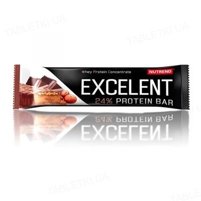 Батончик протеиновый Nutrend Excelent Protein bar Шоколад-орех, 85 г
