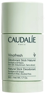 Дезодорант Caudalie Vinofresh desodorante Natural Stick, 50 мл