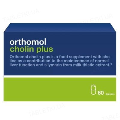 Ортомол Cholin Plus для печени капсулы №60