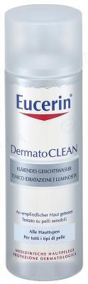 Тоник Eucerin DermatoClean очищающий, для всех типов кожи, 200 мл