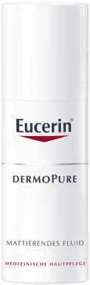 Флюид Eucerin DermoPurifyer матирующий для проблемной кожи, 50 мл
