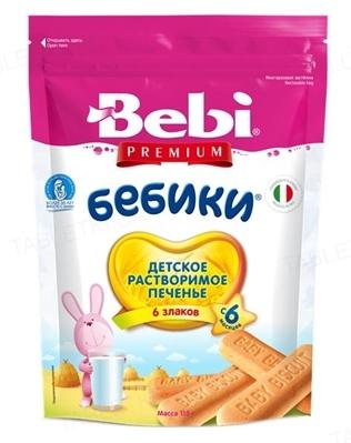 Печиво Bebi Premium Бебіки 6 злаків, 115 г