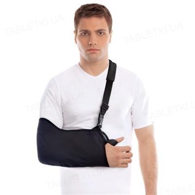 Бандаж для руки Торос Груп 610 поддерживающий (косыночная повязка), цвет черный, размер 1