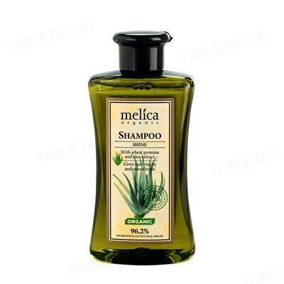 Шампунь Melica Organic с протеинами пшеницы и экстрактом алоэ, 300 мл