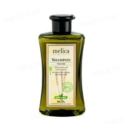 Шампунь Melica Organic для объема с кератином и экстрактом меда, 300 мл