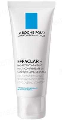 Засіб для обличчя La Roche-Posay Effaclar H інтенсивний заспокійливий зволожуючий для жирної та проблемної шкіри, 40 мл