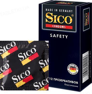 Презервативы Sico Safety классические, 12 штук