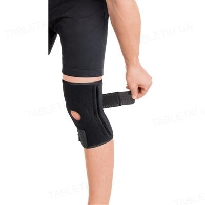 Бандаж для коленного сустава Торос Груп 518 неопреновый с 4 ребрами жесткости, размер 1