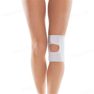 Бандаж на колінний суглоб Торос Груп 513 з відкритою чашечкою, білий, розмір 3