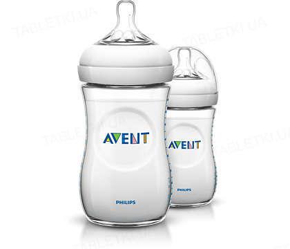 Бутылочка для кормления Philips Avent, Natural, 260 мл, 2 шт