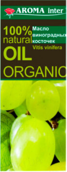 Масло для тела Aroma Inter виноградных косточек, 115 мл