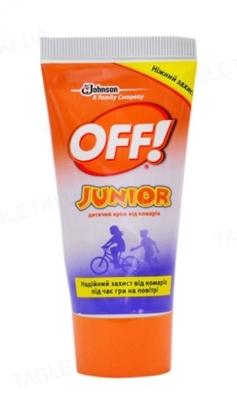 Крем OFF Junior от комаров детский по 50 мл в тубах