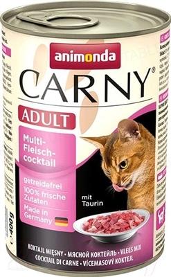 Консервы для кошек Animonda Carny мультимясной коктейль, 400 г (6 шт)