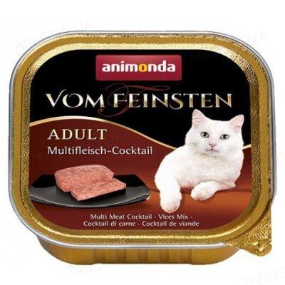Консерви для кішок Animonda Vom Feinsten мультим'ясний коктейль, 100 г (32 шт)
