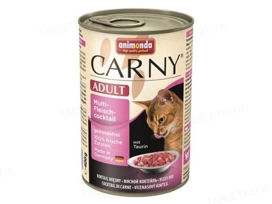 Консервы для кошек Animonda Carny Adult мультимясной коктейль, 200 г (6 шт)