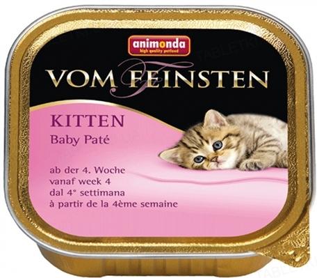 Консервы для котят Animonda Vom Feinsten Baby-pate, 100 г (32 шт)