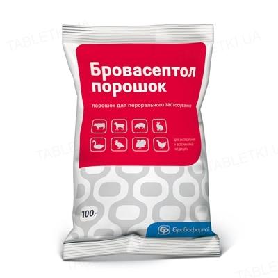 Бровасептол (ДЛЯ ЖИВОТНЫХ) порошок, 100 г