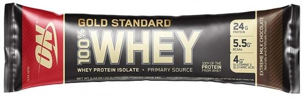 Протеин Optimum Nutrition Whey Gold extreme milk chocolate, 32 г
