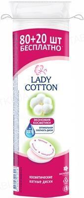 Ватные диски Lady Cotton, 80 + 20 штук