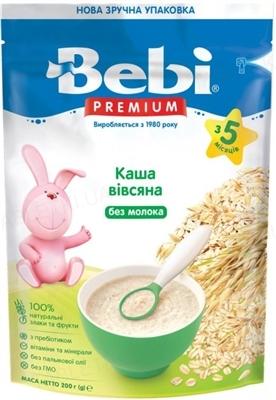 Суха безмолочна каша Bebi Premium Вівсяна, 200 г