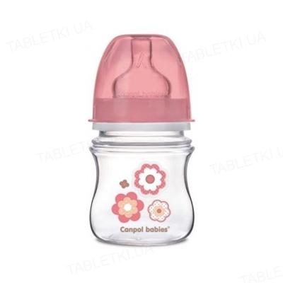Бутылочка антиколиковая Canpol Babies EasyStart Newborn baby 35/216_pin с широким отверстием, 120 мл