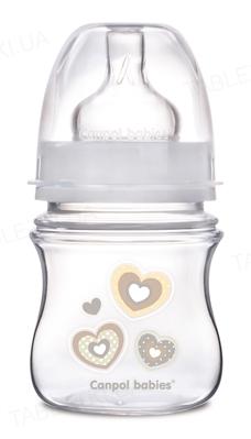 Бутылочка антиколиковая Canpol Babies EasyStart Newborn baby 35/216_bei с широким отверстием, 120 мл