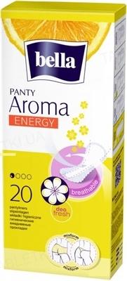 Прокладки гигиенические ежедневные Bella Panty Aroma Energy, 20 штук