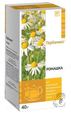 Ромашка Гербамакс цветки по 40 г в пач.