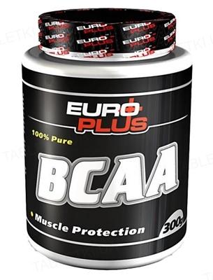 Аминокомплекс Euro Plus BCAA для спортсменов, 300 г, банка