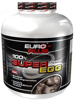 Протеин Euro Plus Olympic Super Egg для спортсменов, 575 г, банка
