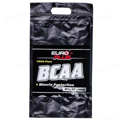 Аминокомплекс Euro Plus BCAA для спортсменов, 300 г, пакет