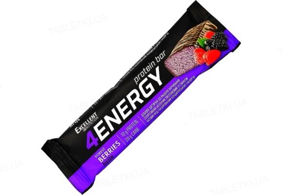 Батончик протеїновий 4Energy, лісові ягоди, 40 г