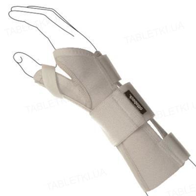 Бандаж (ортез) для поддержки запястья и большого пальца Ottobock Manu Direxa Basic W&T OB-4032 с металлической шиной, размер XS/S правый