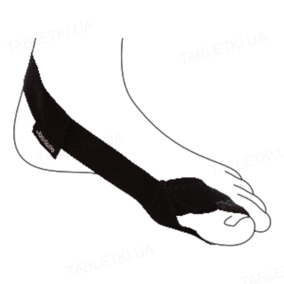 Бандаж вальгусний для великого пальця і стопи Ottobock Hallux Valgus ComfortT OB-509 для правої ноги, розмір універсальний