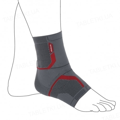 Бандаж для гомілковостопного суглоба Ottobock Malleo Sensa OB-50S5 еластичний, лівий, розмір L